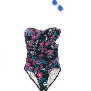 Anne Cole Slimming One-Piece Swimsuit NWT 8